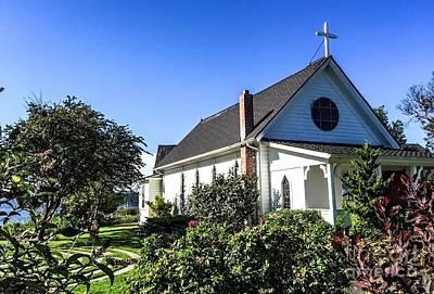 Photograph - Church by William Wyckoff