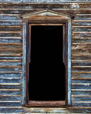 Photograph - Church Window #3 by Adam Reinhart