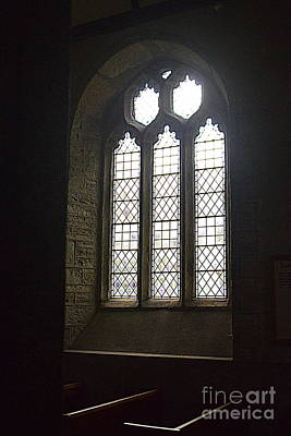 Photograph - Church Window by Andy Thompson