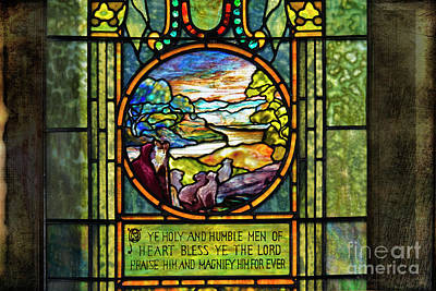 Photograph - Church Window by David Arment