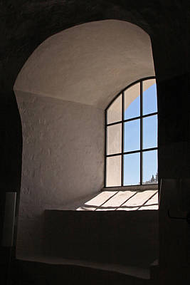 Photograph - Church Window by Inge Riis McDonald