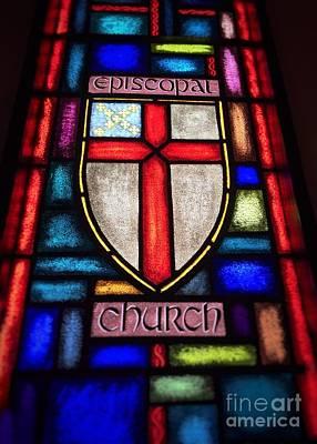 Photograph - Church Window by Jenny Revitz Soper