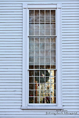 Photograph - Church Window by Mark Alesse
