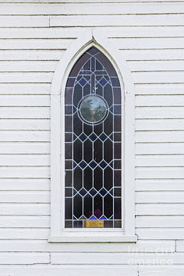 Photograph - Church Window by Thomas Marchessault