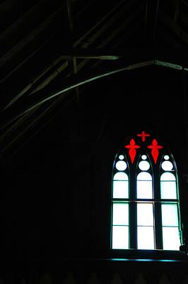 Church Photograph - Church Windows by LeeAnn McLaneGoetz McLaneGoetzStudioLLCcom