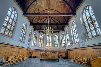Photograph - Church Windows by Nadia Sanowar