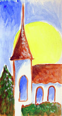 Painting - Church78 by Loretta Nash