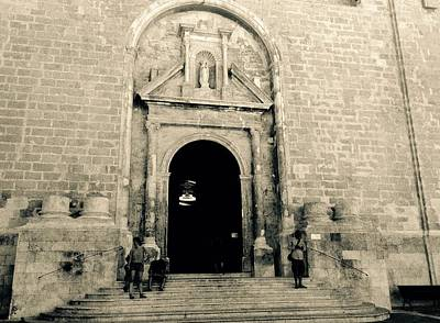 Photograph - Churchdoor In Mahon by John Colley