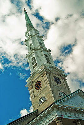 Photograph - Churche Steeple by Pat Exum