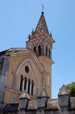 Photograph - Churches Cuernavaca Mexico by George Olney