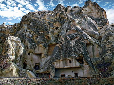 Photograph - Churches Of Goreme by Anthony Dezenzio