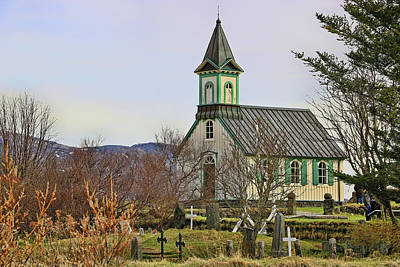 Photograph - Churches Of Iceland # 1 by Allen Beatty