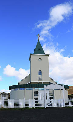 Photograph - Churches Of Iceland # 10 by Allen Beatty