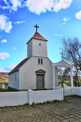 Photograph - Churches Of Iceland # 11 by Allen Beatty