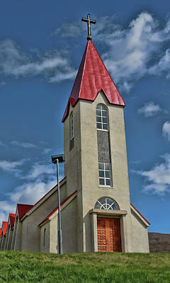 Photograph - Churches Of Iceland # 12 by Allen Beatty