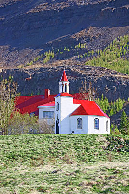 Photograph - Churches Of Iceland # 14 by Allen Beatty