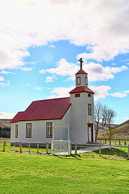 Photograph - Churches Of Iceland # 15 by Allen Beatty