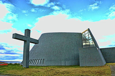 Photograph - Churches Of Iceland # 17 by Allen Beatty