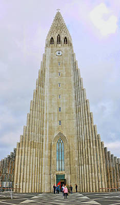 Photograph - Churches Of Iceland # 18 by Allen Beatty