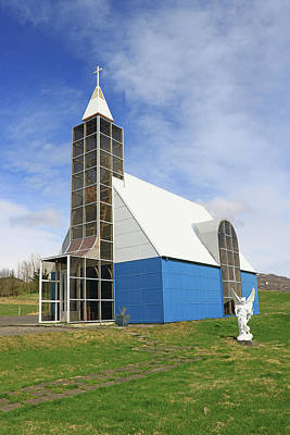 Photograph - Churches Of Iceland # 2 by Allen Beatty
