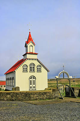 Photograph - Churches Of Iceland # 3 by Allen Beatty