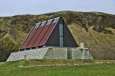 Photograph - Churches Of Iceland # 5 by Allen Beatty