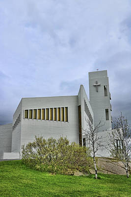 Photograph - Churches Of Iceland # 6 by Allen Beatty