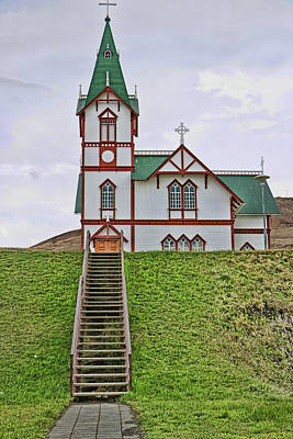 Photograph - Churches Of Iceland # 8 by Allen Beatty