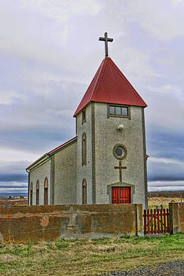 Photograph - Churches Of Iceland # 9 by Allen Beatty