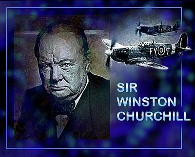 Digital Art - Churchill by Hartmut Jager