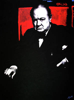 Churchill Art Print