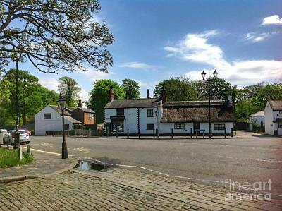 Photograph - Churchtown Village After The Rain by Joan-Violet Stretch