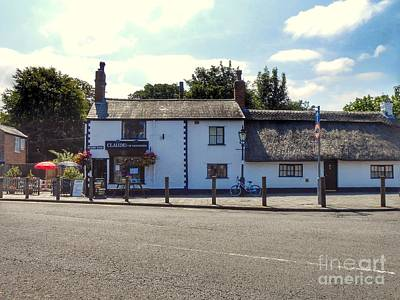 Photograph - Churchtown Village Corner Cafe by Joan-Violet Stretch