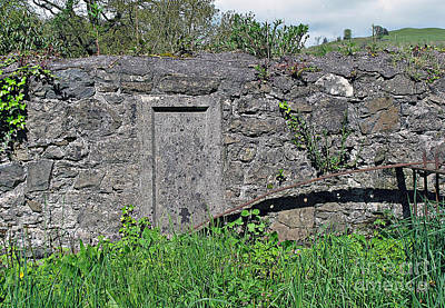 Photograph - Churchyard Wall by Ethna Gillespie