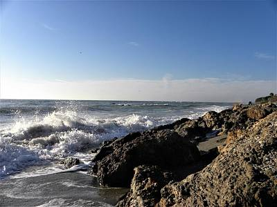 Coast Photograph - Churned Up by Ric Schafer