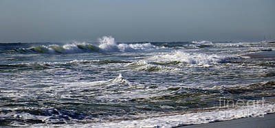 Photograph - Churning Ocean by Mary Haber