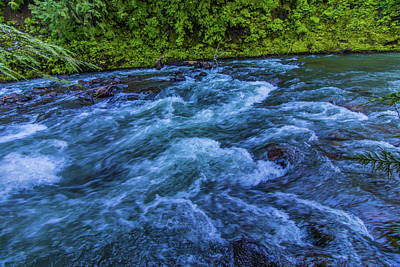 Art Print featuring the photograph Churning Water by Jonny D