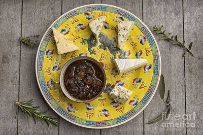 Fromage Photograph - Chutney And Cheese by Patricia Hofmeester