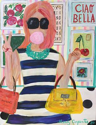 Painting - Ciao Bella by Mindy Carpenter