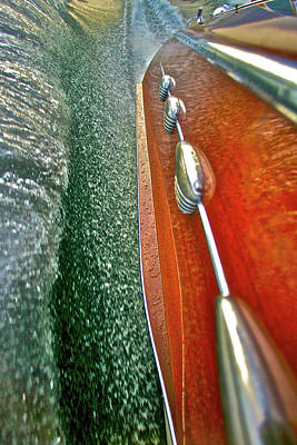 Photograph - Ciao Spray Rail by Steven Lapkin