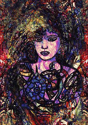 Ciara Art Print by Natalie Holland