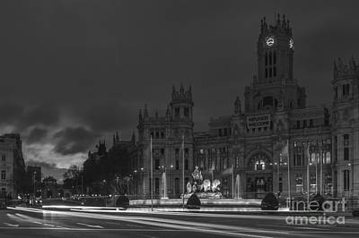 Photograph - Cibeles Square Madrid Spain by Pablo Avanzini