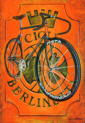Painting - Cicli Berlinetta by Mark Howard Jones