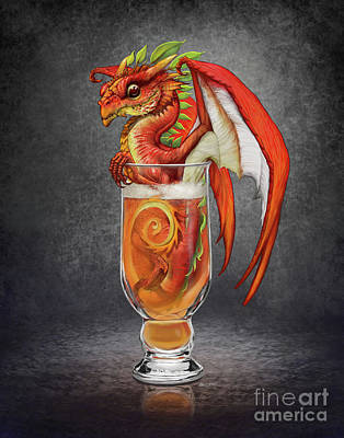 Cider Dragon Art Print