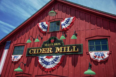 Photograph - Cider Mill by Guy Whiteley