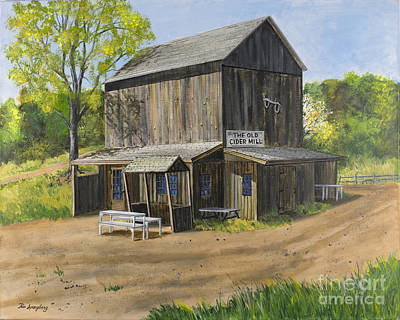 Cider Mill Painting - Cider Mill by Timothy Spongberg