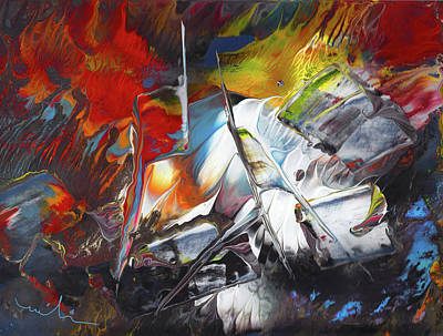 Painting - Ciel Terre Et Mer by Miki De Goodaboom