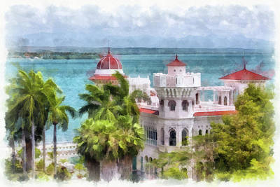 Photograph - Cienfuegos Vista by Dawn Currie
