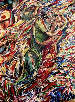 Painting - Cigar Dance by Dawn Fisher