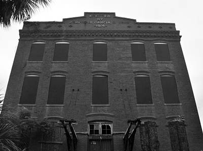 Cigar Factory Photograph - Cigar Factory Tampa Florida by David Lee Thompson